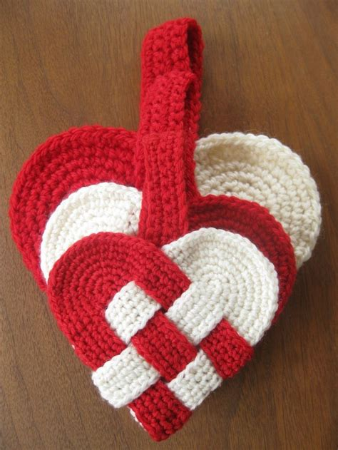 crochet heart pattern pinterest free danish heart crochet pattern crochet pinterest
