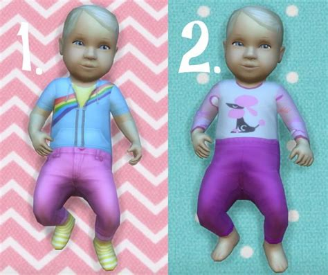 sims 4 cc baby funtioneri baby overrides set 10 light skin girl blond at