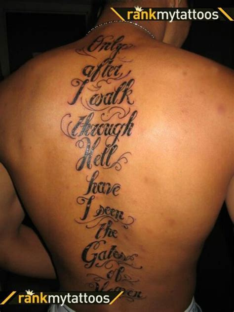 tattoo quotes heaven tattoos of heaven and hell quotes quotesgram