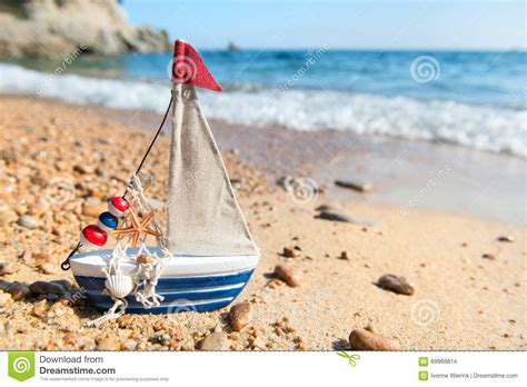 toy boat for beach toy boat at beach stock photography cartoondealer