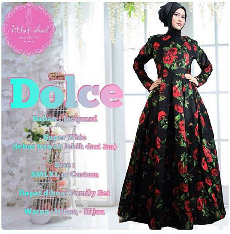 Baju Dress Pesta Gaun Dress Family Holidays Oo