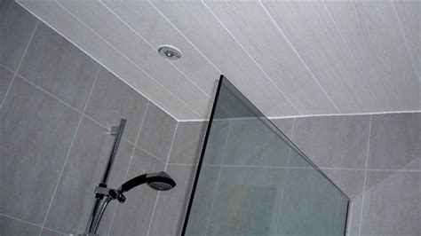 shower ceiling panels belmont white ash panels used on a bathroom ceiling