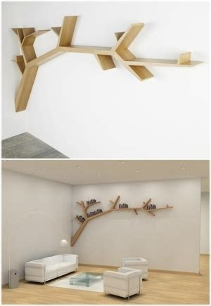 branch bookshelf by olivier dolle