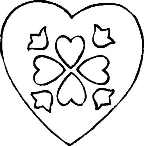 Heart Colouring Sheets   Heart Colouring