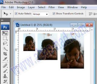cara edit foto ukuran 3x4 cara cetak ukuran foto dengan photoshop