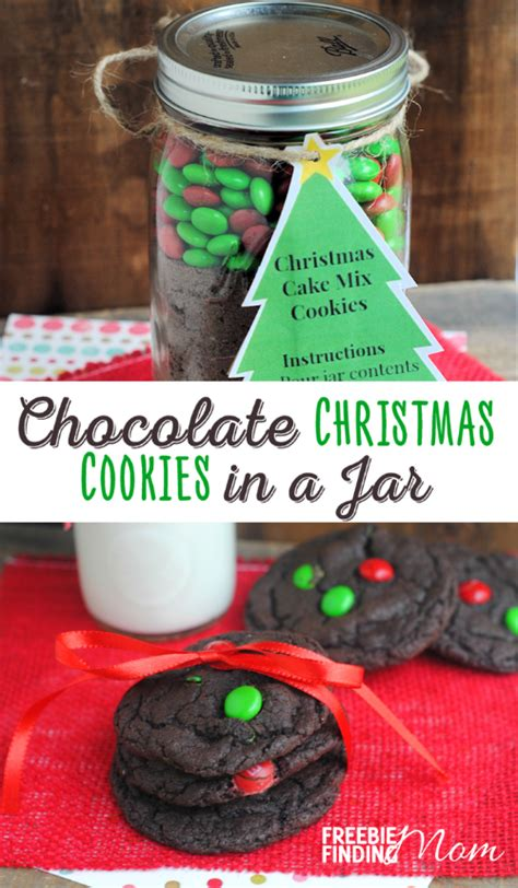 easy to mail christmas gifts chocolate cookies in a jar if you need a great diy gift idea that is for