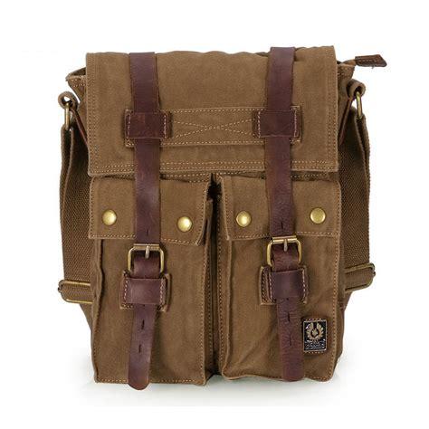 Travel Messenger Bag travel messenger bag khaki army green vintage