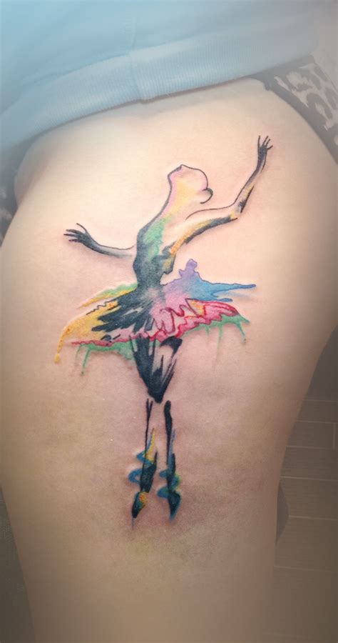 watercolor tattoos ontario watercolour ballerina by adam at black apple