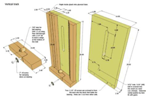 8 free router lift plans build notes and videos the tilting router lift plans for sale