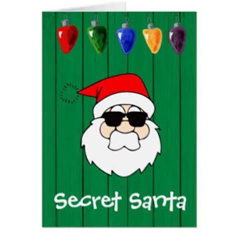 A Gift Card Santa - secret santa gifts t shirts art posters other gift ideas zazzle