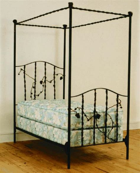 iron canopy bed iron canopy bed iron poster canopy bed in bedroom setting