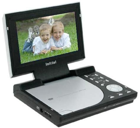 format dvd portable initial technology idm 7110 7 inch portable dvd player
