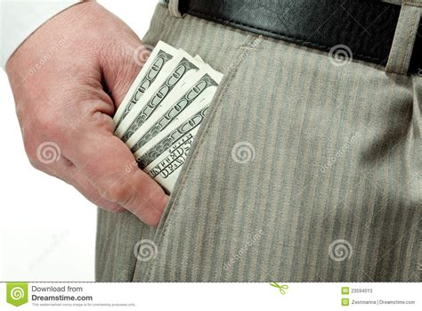 Out Of Pocket s taking money out of pocket stock photos image