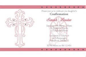 personalised confirmation invitations design 2