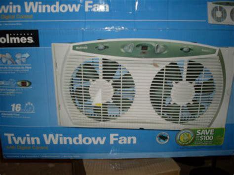 holmes twin window fan with comfort control thermostat lauraaldridge1984 holmes 3 speed twin dual window fan