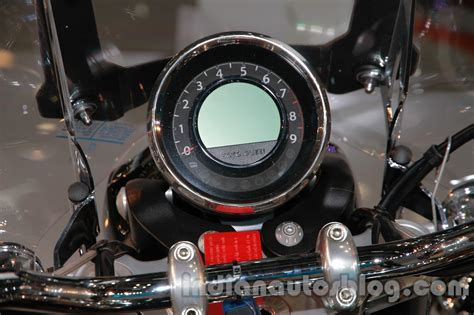 Ktm Auto Expo 2014 by Moto Guzzi California 1400 Touring Instrument Cluster At