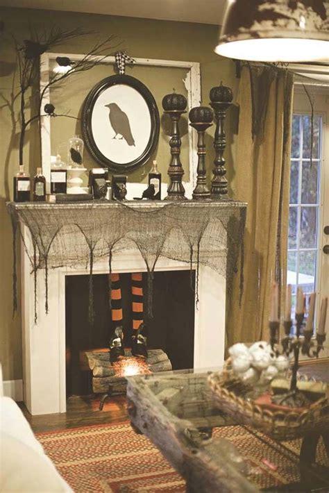 Decorating Ideas by 40 Spooktacular Mantel Decorating Ideas