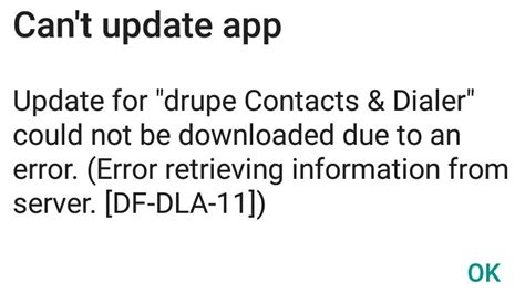 Play Store Is Not Showing Updates Fixed Df Dla 11 Df Dla 12 Error In Play Store