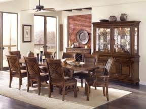 legacy classic dining room set 9 pc legacy classic larkspur rustic dining set