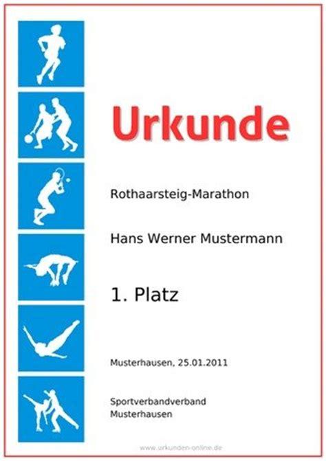 Word Vorlage Urkunde Sport Sporturkunde Selber Erstellen Bei Urkunden De