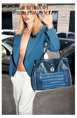 Kate Moss Ysl Downtown Tote by Yves Laurent Muse Tote Designer Handbags