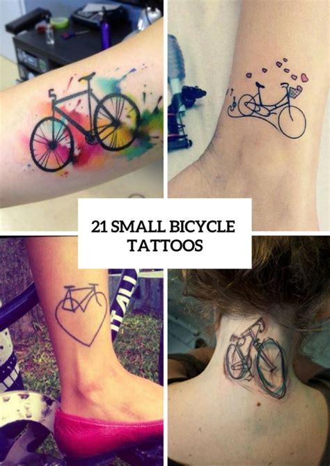 small bike tattoo 25 best bicycle ideas on bike tattoos
