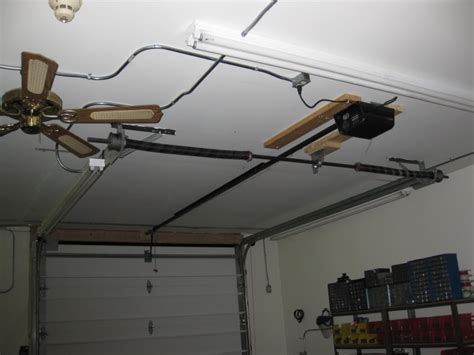 High Ceiling Garage Door Opener Low Overhead Garage Door Neiltortorella