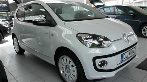 volkswagen up white vw up white 75 hp 160 km h 2012 see playlist youtube