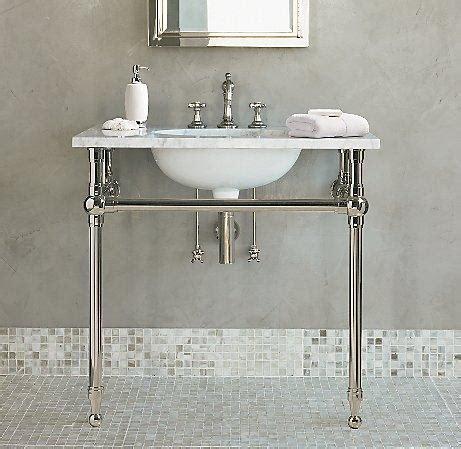 Park Pedestal Sink   Single Vanities & Washstands