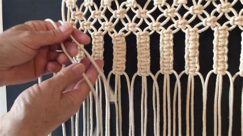 How To Do Macrame - how to do macrame knots vertical larks