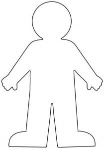 Outline Of A To Color by Outline Of Person Coloring Page Coloring Home