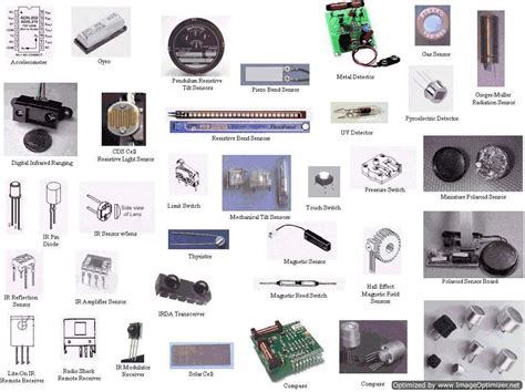 sensor types of sensor electrical4u
