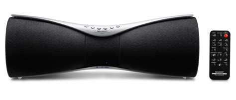 Speaker Bluetooth Sharp gx bt7 new speaker sharp equipped with bluetooth nfc