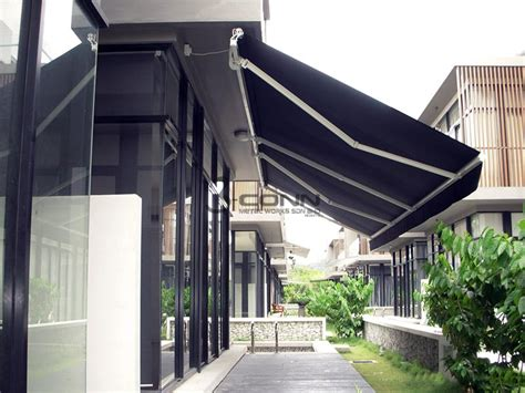 Motorised Awnings Prices by Retractable Awning Motorized Retractable Awning Commercial
