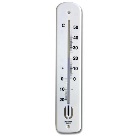 Www Termometer 380mm wall thermometer celsius brannan