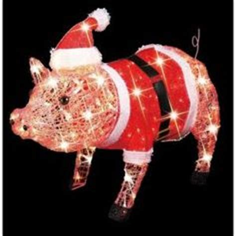 pink christmas pig outdoor decoration 1000 images about ideas on outdoor decorations and