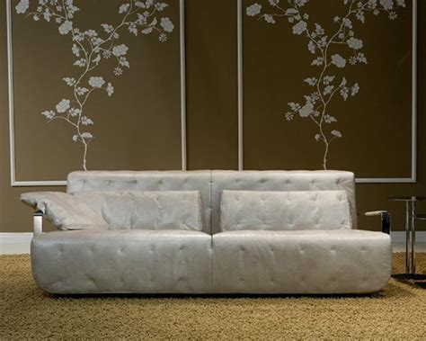 ultra modern leather sofa from borzalino nobel