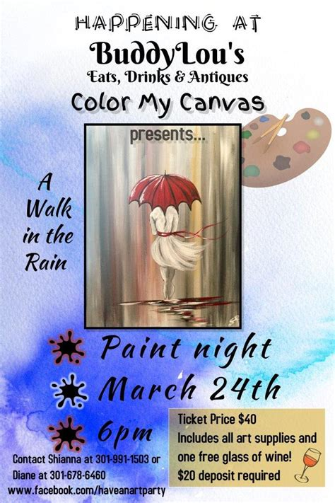 paint nite calgary march 22 paint paint buddy lou s