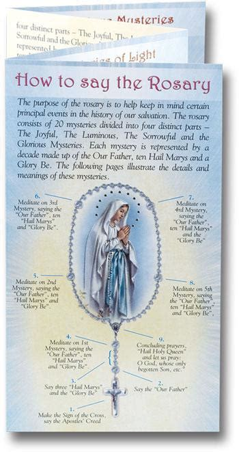 printable version of how to pray the rosary sacco rosary books