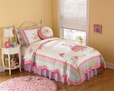 girls full bedding princess beautiful bedding pink quilt in twin and full