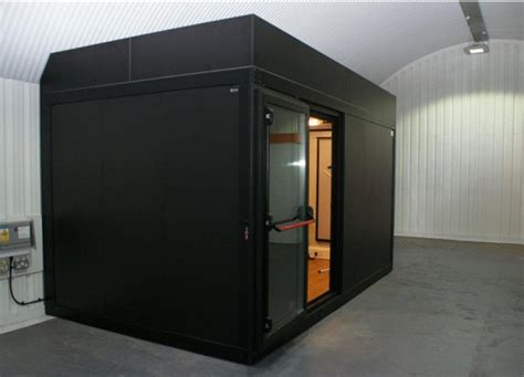 room in a room soundproof boxy modular studios and soundproof rooms amadeus