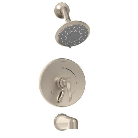 Symmons Tub And Shower Valve by Symmons Single Handle 3 Spray Tub And Shower Faucet