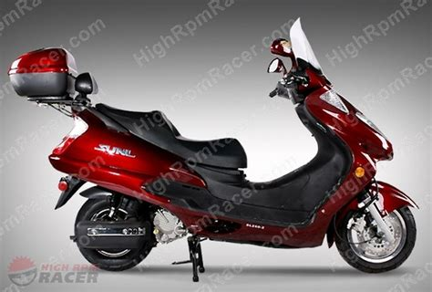 sunl sl250 2 250cc scooter moped owners manual 0 01