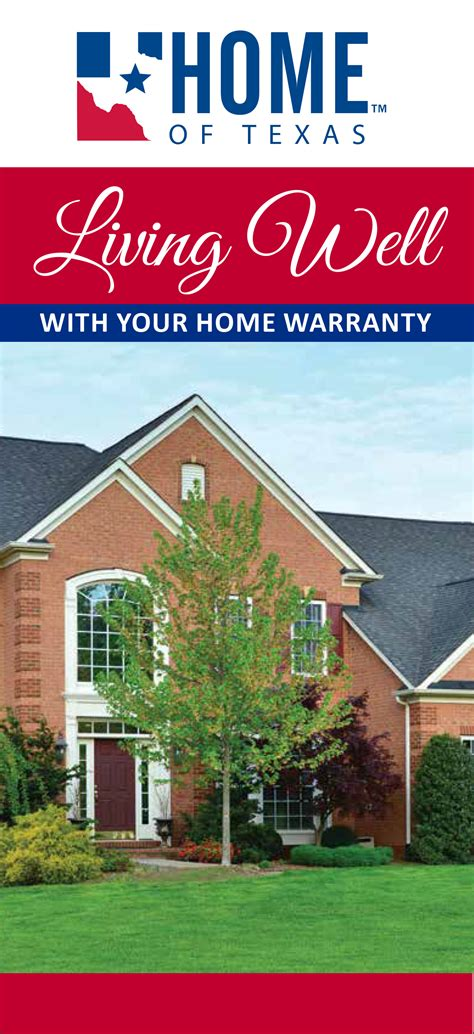 1 Year Builders Warranty Fha by Consumer Brochures For Rwc Members Rwc Warranty Rwc