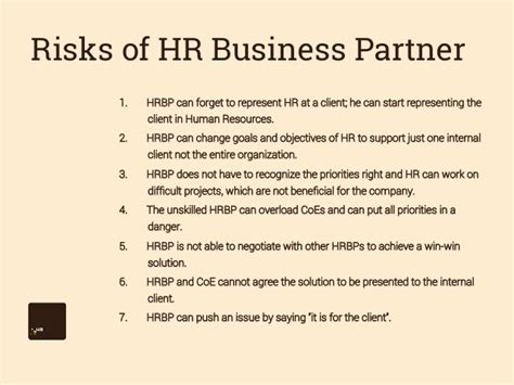 hr business partner resume sle what is human resources business partnership model best