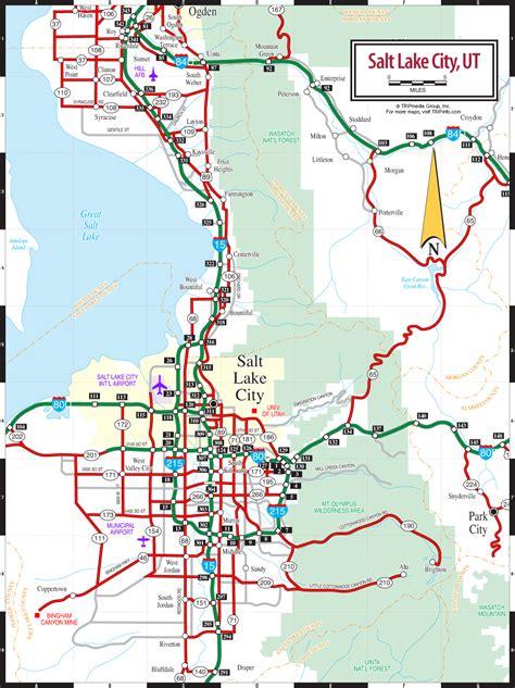 salt lake city usa map salt lake city ut map