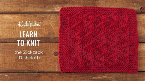 learn to knit dishcloth knitted dishcloth tutorials