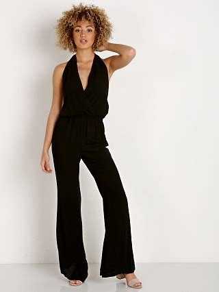 Wst 16901 Black Sunflower Playsuit rompers at largo drive