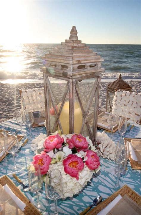 florida wedding venues beach wedding centerpieces