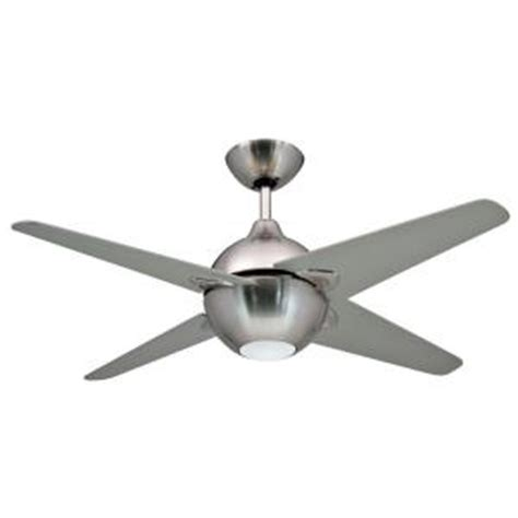 home depot ceiling fan light kits yosemite home decor spectrum collection 42 in indoor brushed nickel ceiling fan with light kit